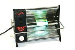 Vintage Sperti Desert Tan At Home Tanning UV Lamp  Face & Body Sunlamp Works