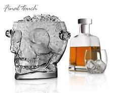 Toque Final Brain Freeze Calavera Cristal Cubo de hielo - fta1860