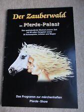 Der Zauberwald im Pferde-Palast Programmheft