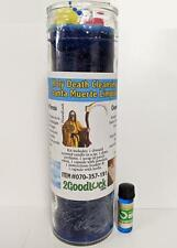 Holy Death Cleansing Dressed Candle Kit - Santa Muerte Limpias