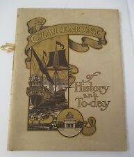 1907 CLAREMONT INN Riverside Drive, New York City Illustrated Promotional Book