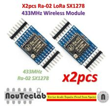 2pcs SX1278 LoRa 433MHz Ra-02 Wireless Spread Spectrum Transmission Socket Ra02
