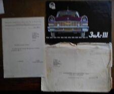 ZIL 111 LIMOUSINE orig 1965 Prestige Brochure + Envelope + Letter - USSR ZIS ZIM