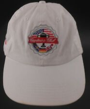 Captain s Club Davis Love III Bridgestone Golf White Strapback Cap Hat 2a139c4ad4fe