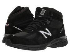"New Balance 990v4 Black Mid ""Made In USA"" Boots Shoes MO990BK4 Size 9.5 D NEW"