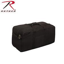 Rothco 8133 Canvas Assault Cargo Bag - Black