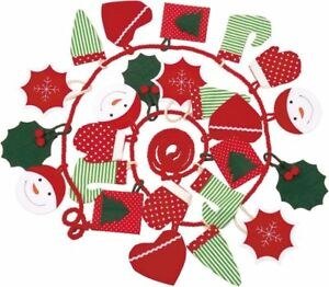 KÄTHE KRUSE Adventskalender grün / rot Stiefel Herz Schneeflocke 0473452  NEU