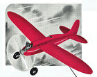 "Model Airplane Plans (UC): Vintage Jim Walker Fireball 36""ws for .23 Engine"
