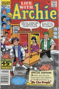Life with Archie #264 FN 1988 Stock Image