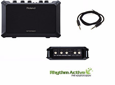 ROLAND MOBILE CUBE AC ACOUSTIC CHORUS GUITAR-MIC-INSTRUMENT STEREO AMPLIFIER