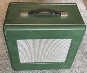 Rare Vintage Siemens Projector Speaker Cabinet with Baker Group 25 Watt Speaker