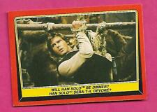 RARE 1983 OPC # 87 HAN SOLO BE DINNER RETURN OF THE JEDI NRMT  (INV# C3267)
