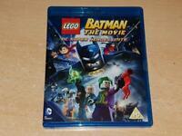 LEGO Batman The Movie DC Super Heroes Unite Blu Ray **FREE UK POSTAGE**