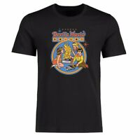 Funny Men T-shirt Devil's Music Sing Along Graphic Tee Cotton Short Sleeve Shirt