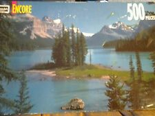 "RoseArrt Encore Jigsaw Puzzle Lake Matigne  SEALED  500 pieces  13""x19"""