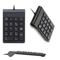 18 Keys Mini keyboard keypad Wired USB Number Numeric Keypad Laptop Keyboard