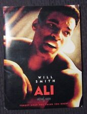 2001 ALI  Press Kit in Folder NM/VF w/ 12 Slides - Will Smith Jamie Foxx