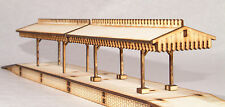 PC001 Platform Canopy Twin pack OO Gauge Laser Cut Kit