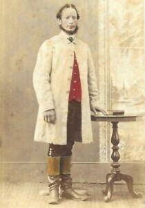 CDV Photo Hand Coloured Doctor Surgeon? Chenhall Tavistock Devon 1860s-1870s