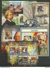5 pieces. MOZAMBIC - Sierra Leone - Guinea-Bissau - MNH - Famous people - 2014 -