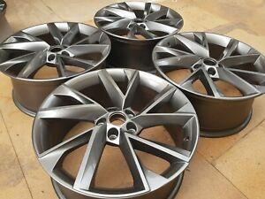 "19"" Genuine Skoda Superb Alloy Wheels ANTHRACITE-GREY £595 BARGAIN PRICE!!!"