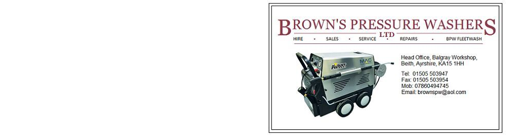 Browns Pressure Washers