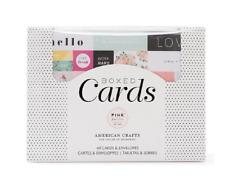American Crafts Chase C'est La Vie 40-piece Card Kit