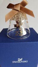 Swarovski SCS 2017 30th Anniversary Gold Bell Ornament Lim-ed Art No 5295582
