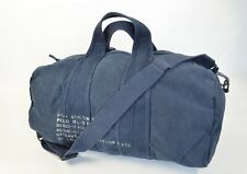POLO RALPH LAUREN DISTRESSED GRAPHIC CANVAS BARREL DUFFLE / GYM / EQUIPMENT BAG