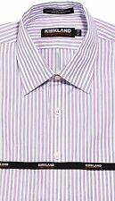 Spread Regular 100% Cotton 32/33 Sleeve Dress Shirts for Men