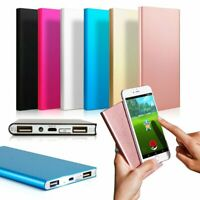 Ultra Thin 20000mAh Portable External Battery Charger Power Bank for Cell Phone@