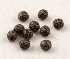 Free Ship 30pcs Tibetan Bronze Spacer Beads 8x8mm   (Lead-free)