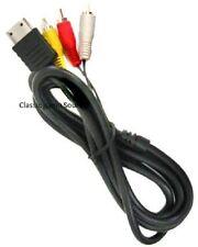 RCA AV A/V for Sega Dreamcast Stereo Composite Audio Video TV Adapter Cable