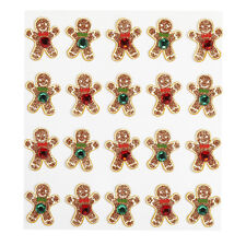 GINGER BREAD REPEATS Jolee's Boutique Dimensional Stickers 50-20617 christmas