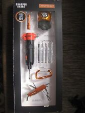 NEW  SHARPER IMAGE MULTI TASK PRO TOOL SET - HOME & CAR SAFETY TACKLE ANY JOB