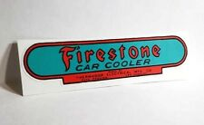 Firestone / Thermador Car Cooler Sticker, evaporative swamp cooler decal