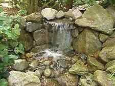 Custom Pro DIY Pondless 2000 gph Waterfall Kit w/grates-water feature-child safe
