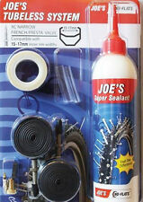 JOE'S NO-FLATS KIT TRASFORMAZIONE TUBELESS SYSTEM 15-17 mm VALVOLA PRESTA