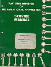 International Construction Equipment Diagnostic Manual Iss-1526-1