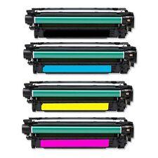 HP CE250A CE251A CE252A CE253A TONER Color Laserjet CM-3530 CP-3525 SET CE250X