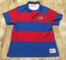 Canterbury New Zealand Rugby Jersey Sz XL VTG Embroidered Red Blue RARE Shirt
