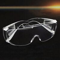 Transparente Belüftete Schutzbrille Augenschutz Schutzlabor Anti Fog-Gläsers