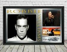 Robbie Williams Autographed Signed Photo Print Poster Memorabilia