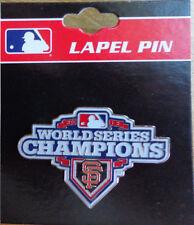 Lapel Pin MLB World Series Champions 2012 San Francisco SF Giants