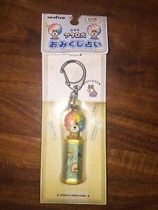 Kawaii rare San-X Afro Ken dog Keychain Item Made In 2001