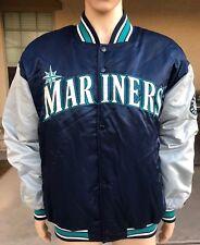 Vintage Seattle Mariners Starter Satin Jacket Diamond Collection Korea XL