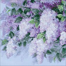 Lilacs after the Rain - Cross Stitch Chart - FREE POST