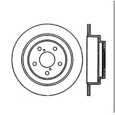 StopTech Sport Slotted Brake Disc fits 1990-2008 Subaru Forester,Impreza Legacy