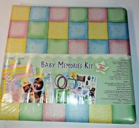 baby memories kit 12 x 12 baby album kit scrapbook
