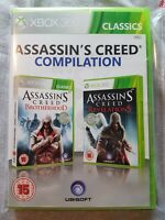 Assassins Creed Compilation Brotherhood & Revelations Xbox 360 PAL Ubisoft Rare